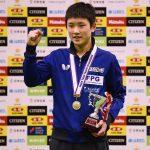 ジュニアの部優勝おめでとう。張本智和選手、平成29年度全日本卓球選手権大会:5日目の試合予定